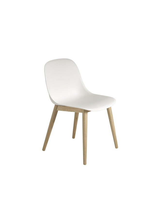 Fiber Side Chair / Wood Base