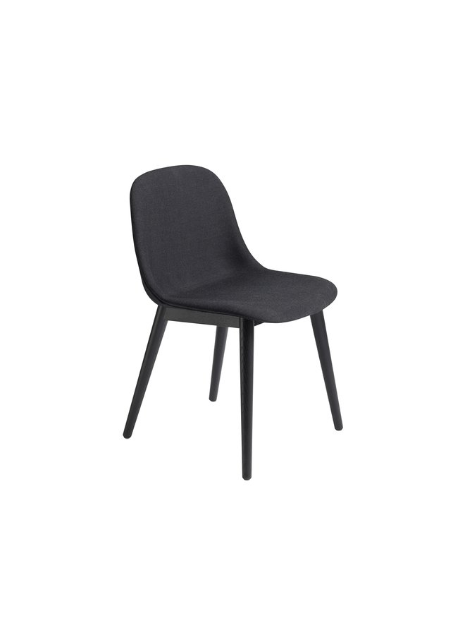 Fiber Side Chair / Wood Base Upholstered