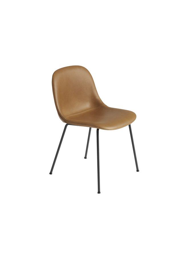 Fiber Side Chair / Tube Base Upholstered