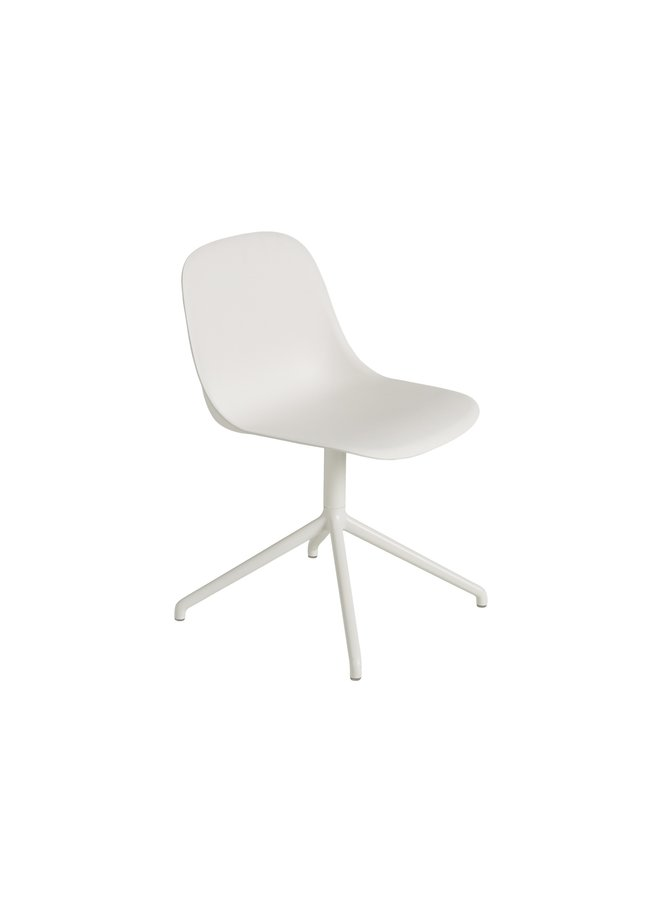 Fiber Side Chair / Swivel Base W. Return