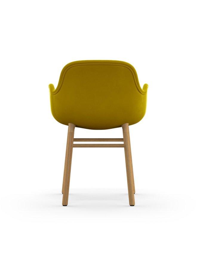 Form Armchair Full Upholstery Oak