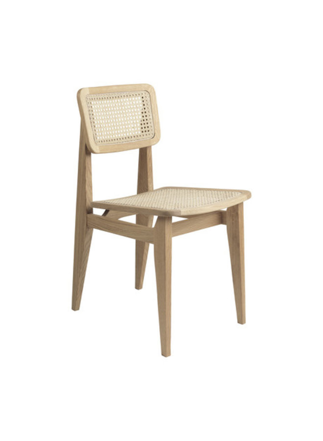 C-Chair Dining Chair - French Cane