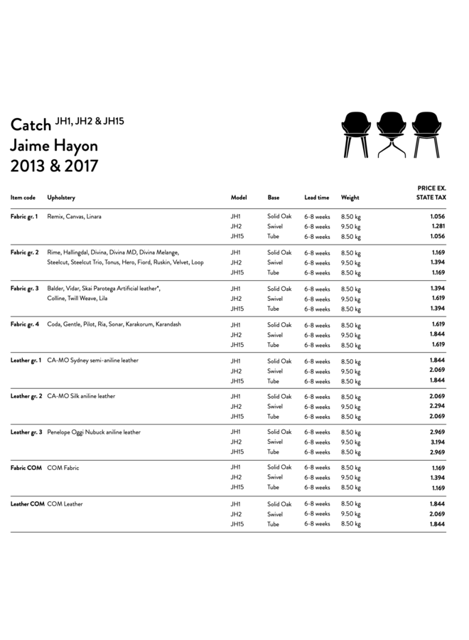 Catch Chair - JH1