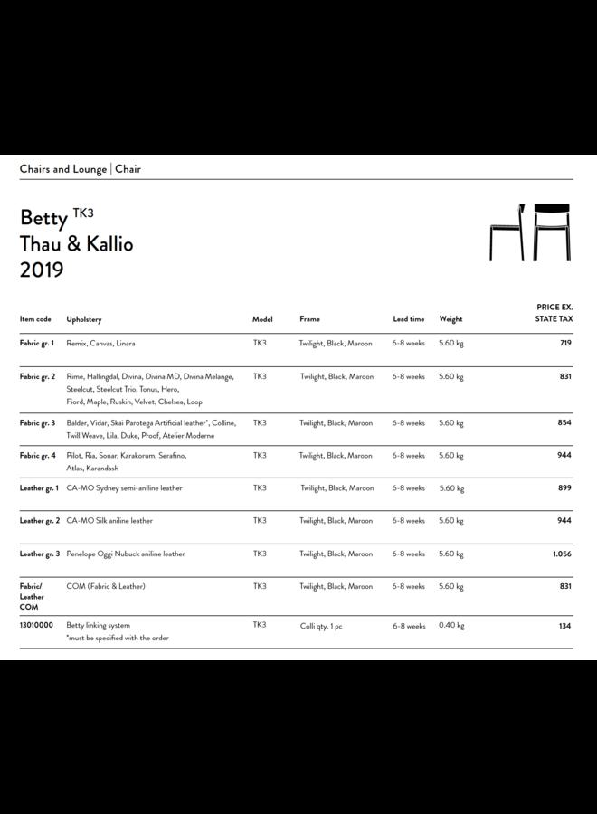 Betty TK3