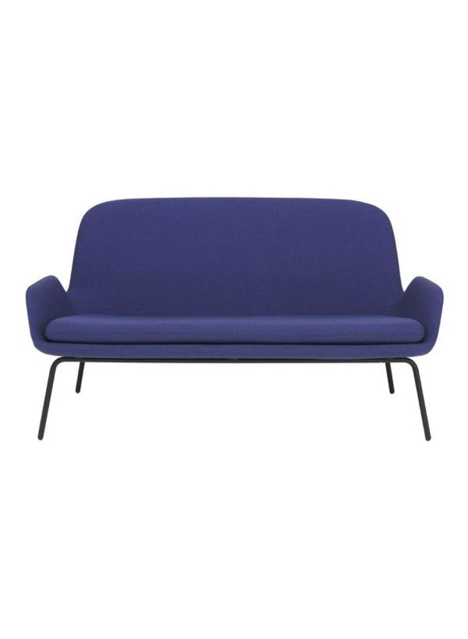 Era Sofa with Black Lacquered Steel Legs