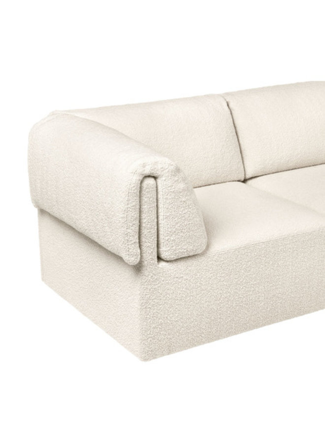 Wonder Sofa - Fully Upholstered, 2-seater with armrest