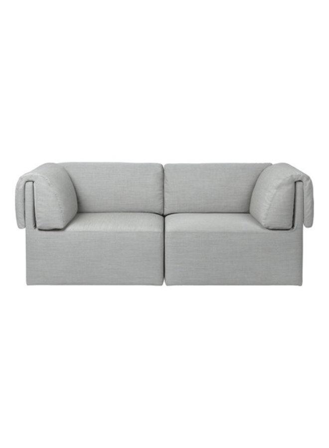 Wonder Sofa - Fully Upholstered, 2-seater with armrest