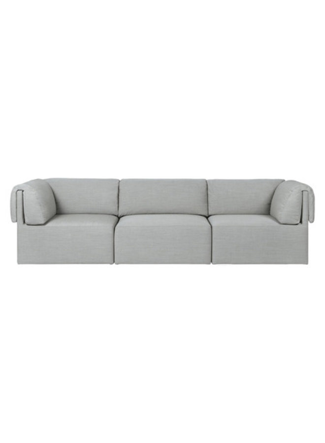 Wonder Sofa - Fully Upholstered, 3-seater with armrest