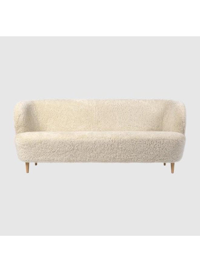 Stay Sofa - Fully Upholstered, 190x70, Wooden legs