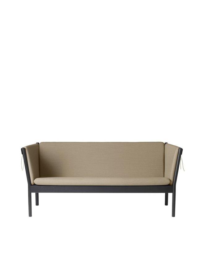 J149 - 3-person couch Black Oak