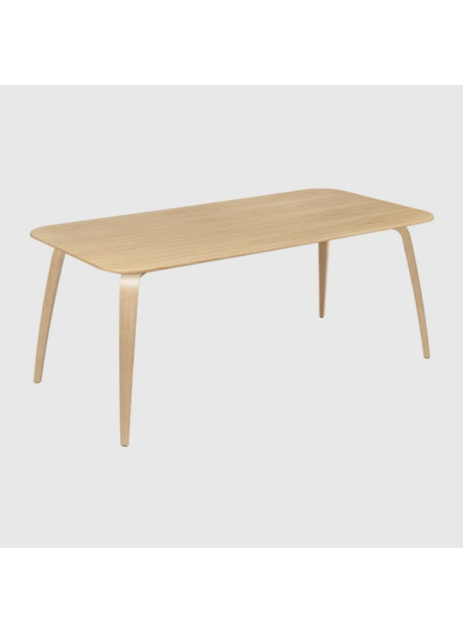 GUBI Dining Table - Rectangular, 180X90