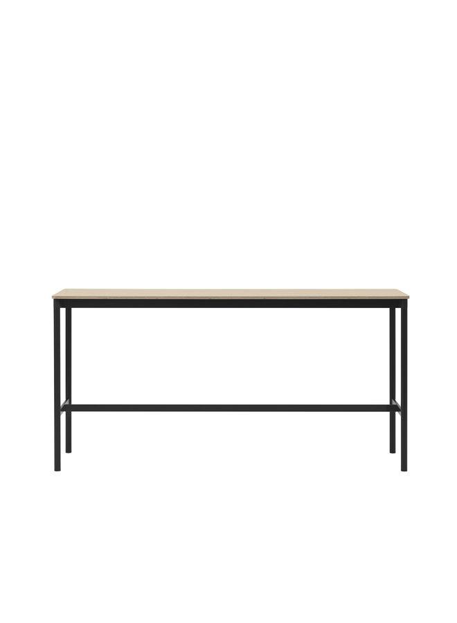 "BASE HIGH TABLE / 160 X 50 H: 95 CM / 63 X 19.7 H: 37.4"""
