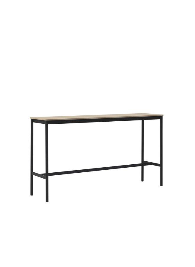 "BASE HIGH TABLE / 160 X 50 H: 105 CM / 63 X 19.7 H: 41.3"""