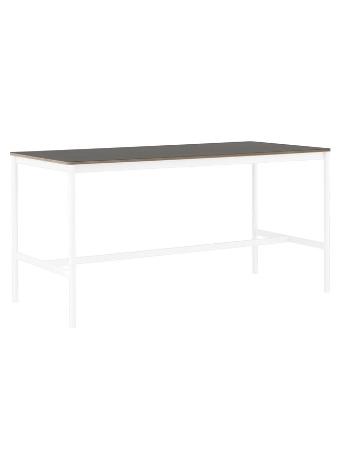 "BASE HIGH TABLE / 160 X 80 H: 95 CM / 63 X 31.5 H: 37.4"""