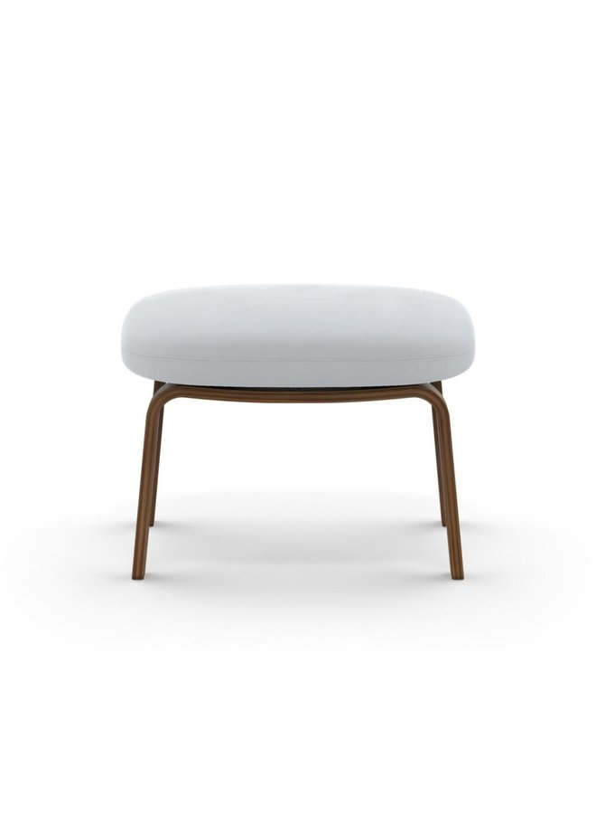 Era Footstool Walnut