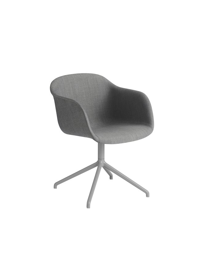 FIBER ARMCHAIR / SWIVEL BASE W.O. RETURN UPHOLSTERED
