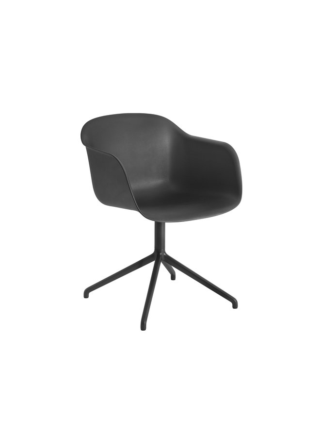 FIBER ARMCHAIR / SWIVEL BASE W. CASTORS