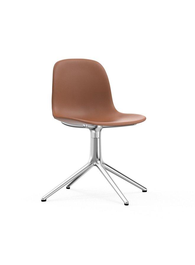 Form Chair Swivel 4L Full Uph. Alu