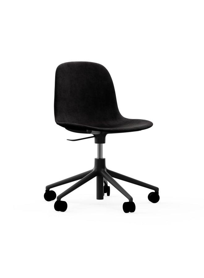 Form Chair Swivel 5W Gaslift Full Uph. Black Alu