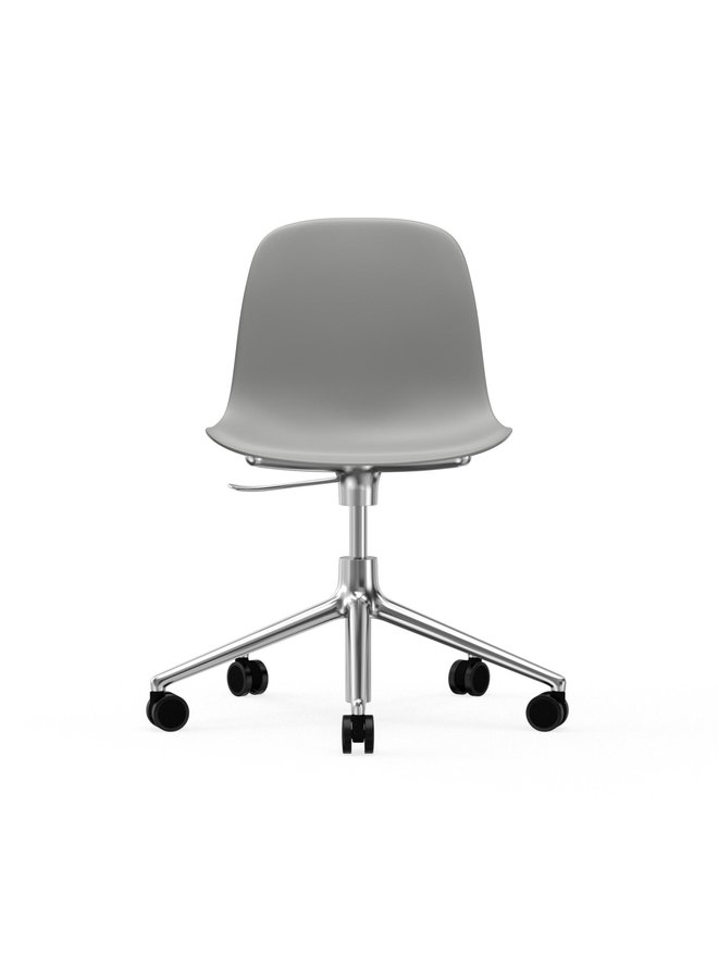 Form Chair Swivel 5W Gaslift Alu