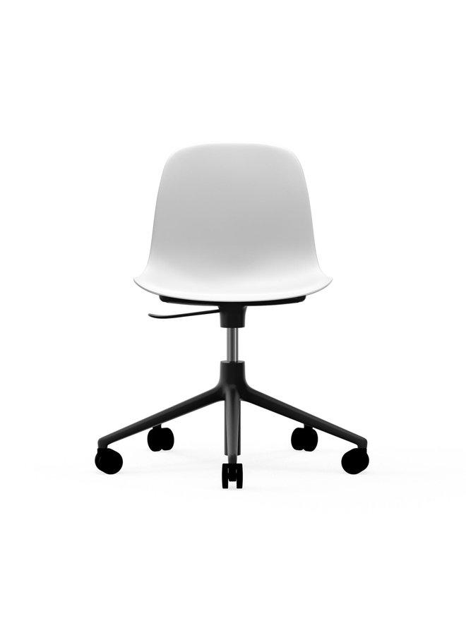 Form Chair Swivel 5W Gaslift Black Alu