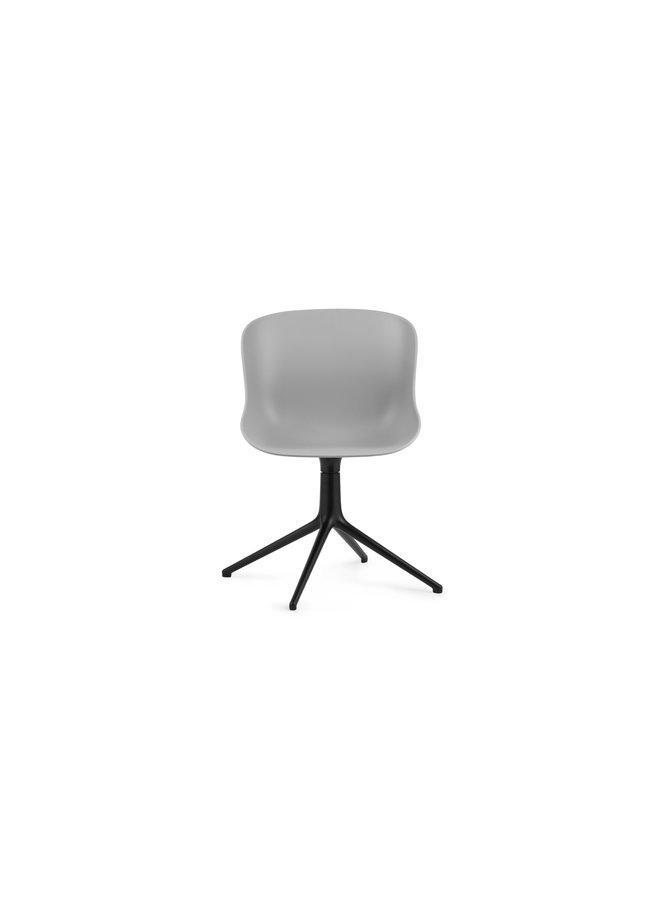 Hyg Chair Swivel 4L Black Alu