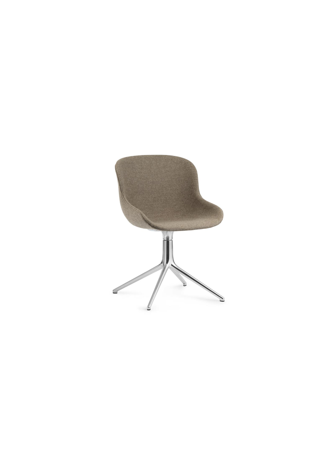 Hyg Chair Swivel 4L Full Upholstery Alu