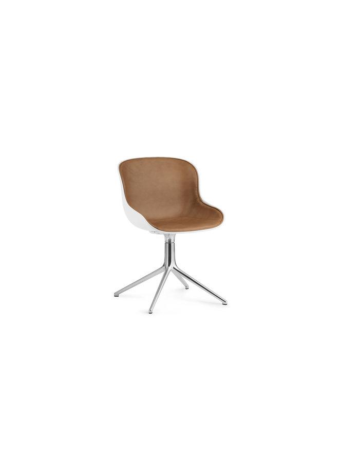 Hyg Chair Swivel 4L Front Upholstery Alu