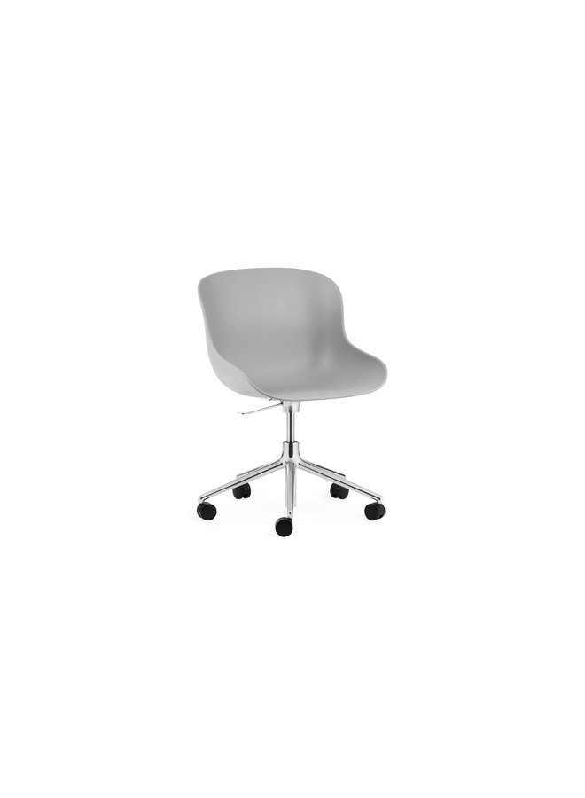 Hyg Chair Swivel 5W Gaslift Alu
