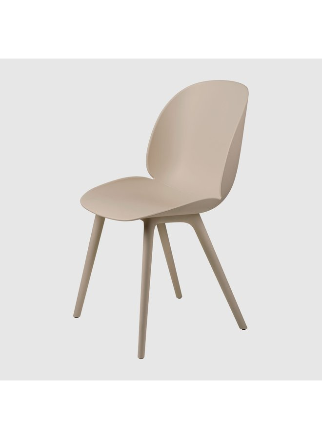 Beetle Dining Chair, Plastic, Unupholstered