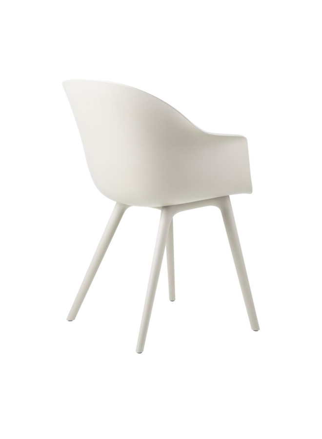 Bat Dining Chair, Plastic Base, Unupholstered