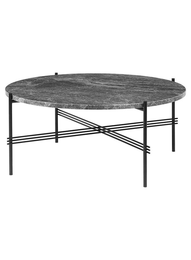 TS Coffee Table - Round, 80cm diameter, Black Base