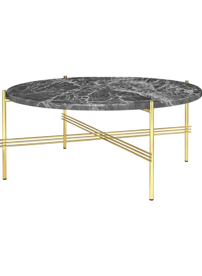TS Coffee Table - Round, Ø80, Brass Base