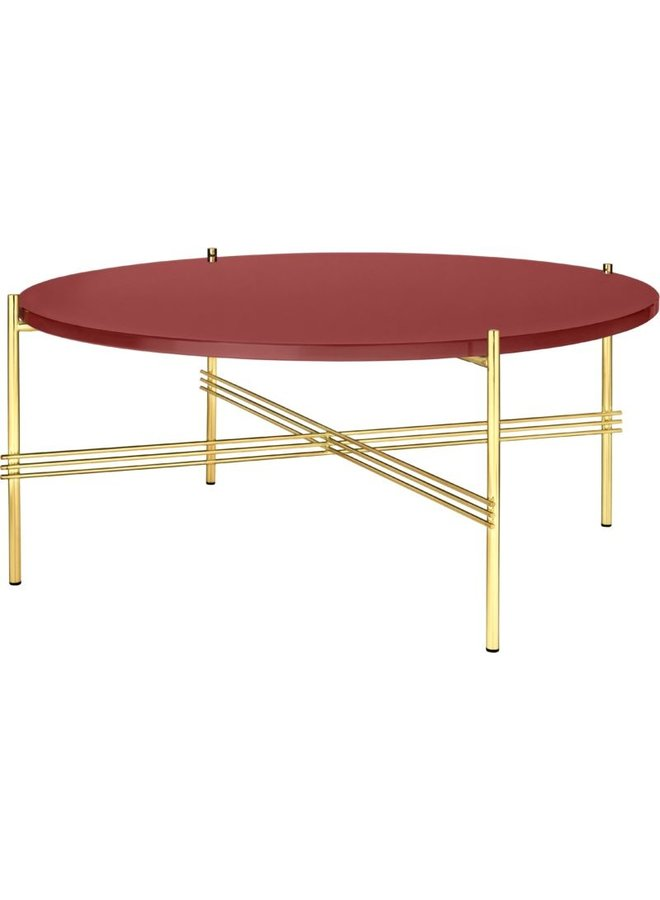 TS Coffee Table - Round, 80cm diameter, Brass Base