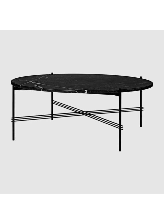 TS Coffee Table - Round, Ø105, Black base
