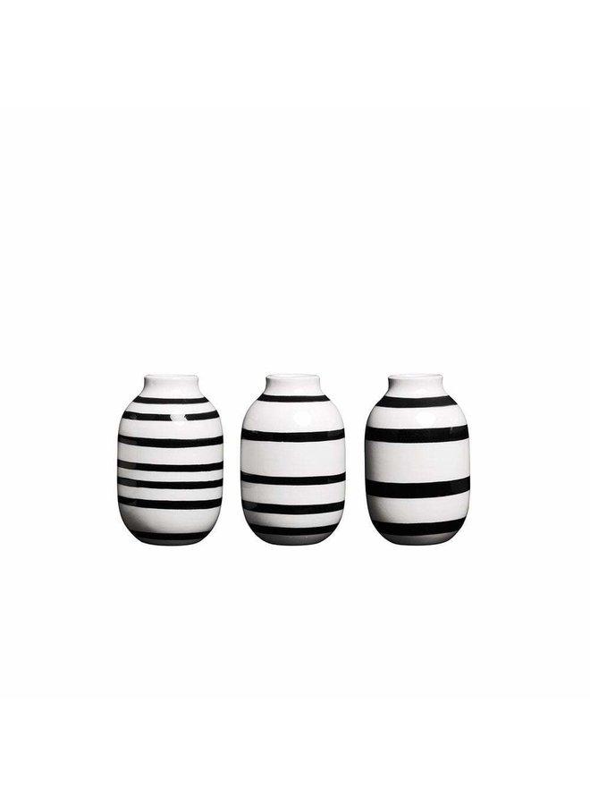Omaggio Vase H8, 3pcs.
