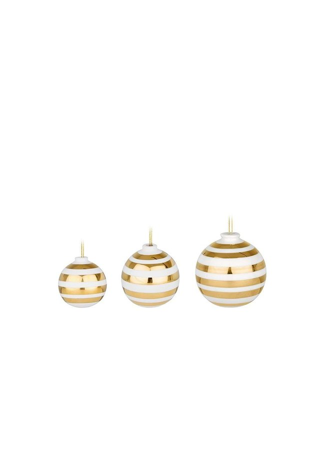 Omaggio Christmas Baubles 3 pcs.