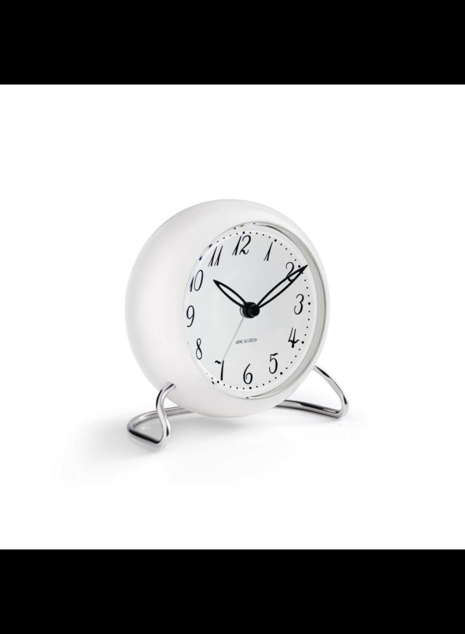 "LK Alarm Clock 4.3"" White"