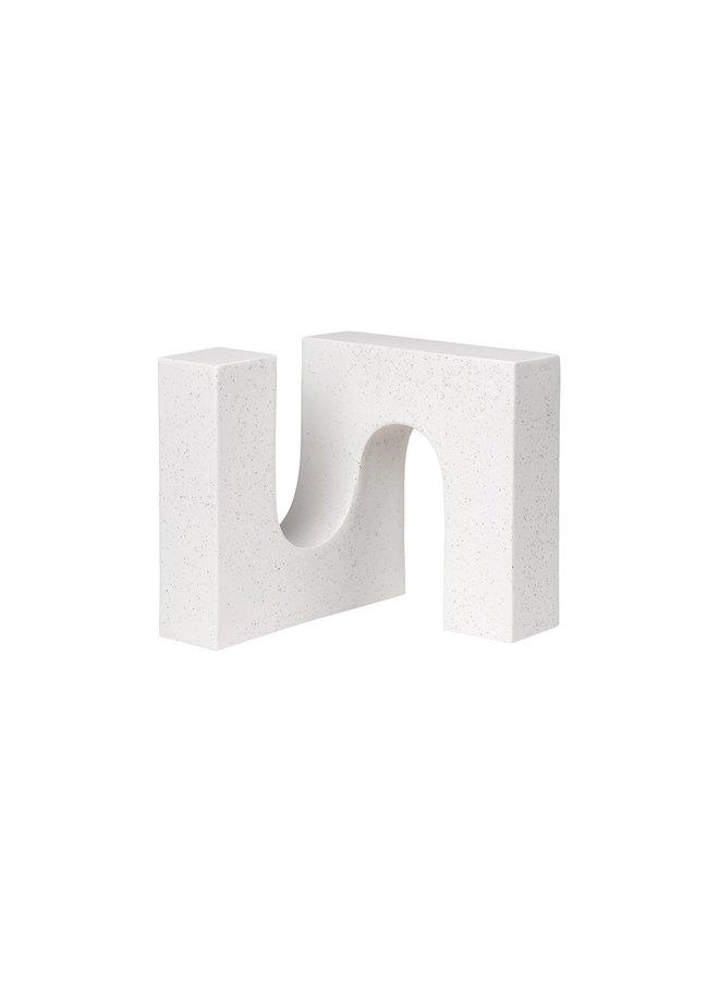 Brick Sculpture - Off White