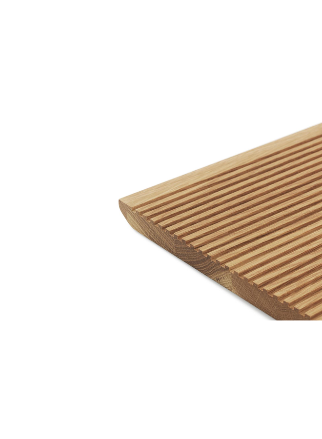 Part Cutting Board Bread Oak