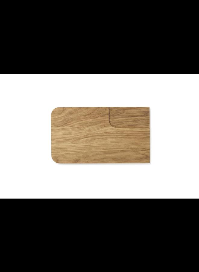 Part Cutting Board Veggie Oak