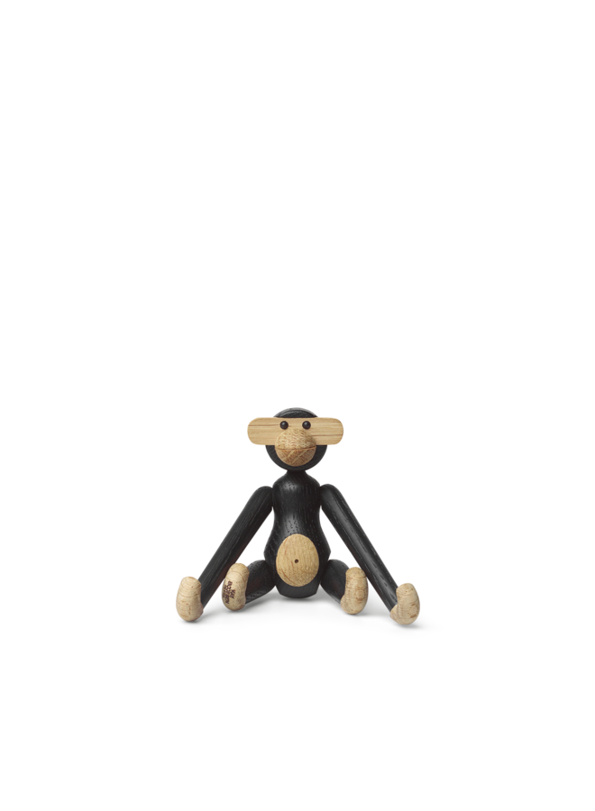 Kay Bojesen Monkey Mini, Black Stained Oak