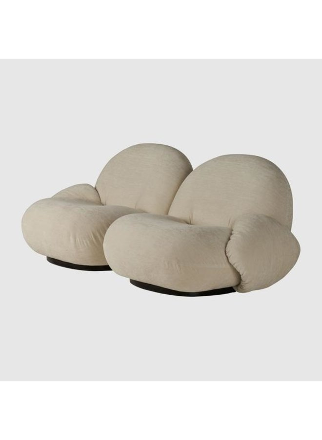 Pacha Sofa - Fully Upholstered, 2-seater with Armrests