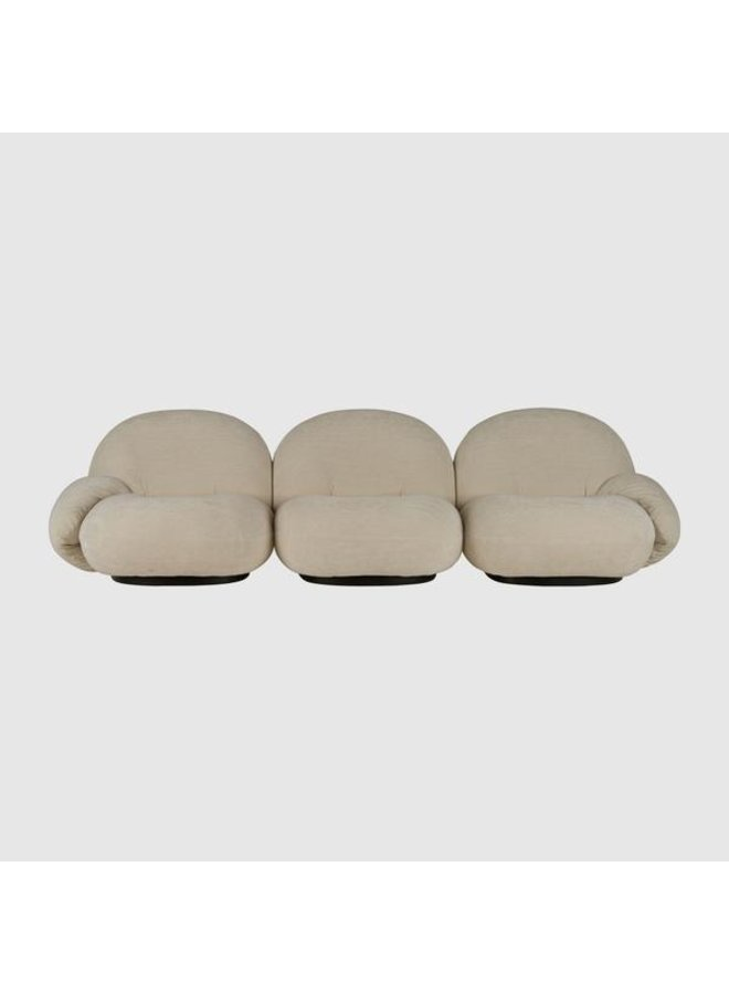 Pacha Sofa - Fully Upholstered, 3-seater with armrests