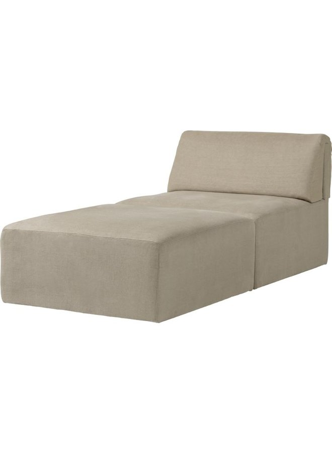 Wonder Chaise Longue - Fully Upholstered, 90x185