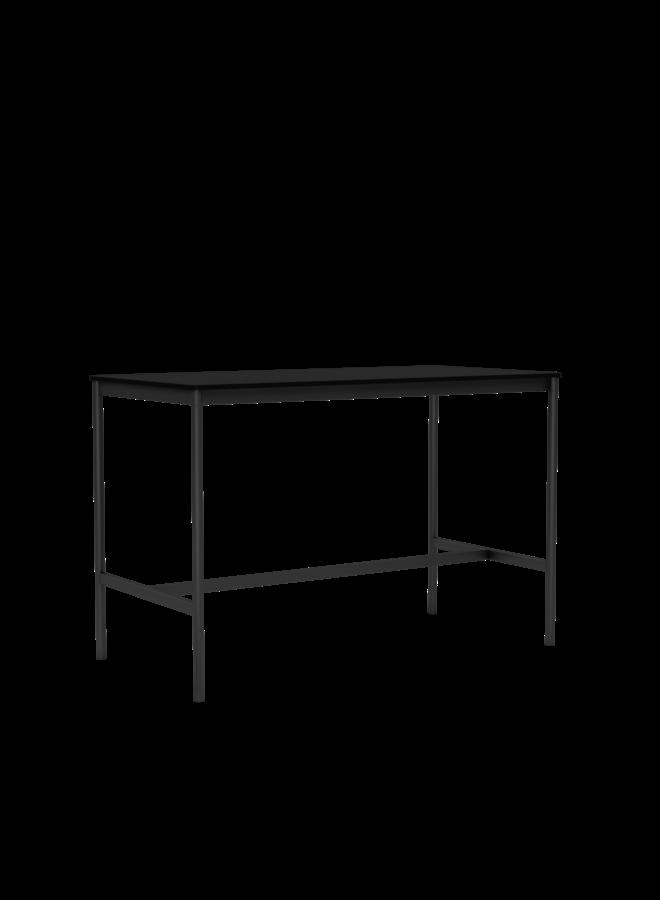 "BASE HIGH TABLE / 160 X 80 H: 105 CM / 63 X 31.5 H: 41.3"""