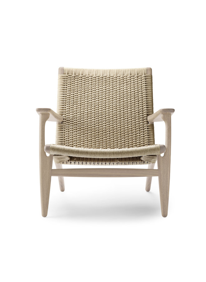 CH25 Lounge Chair Natural Cord