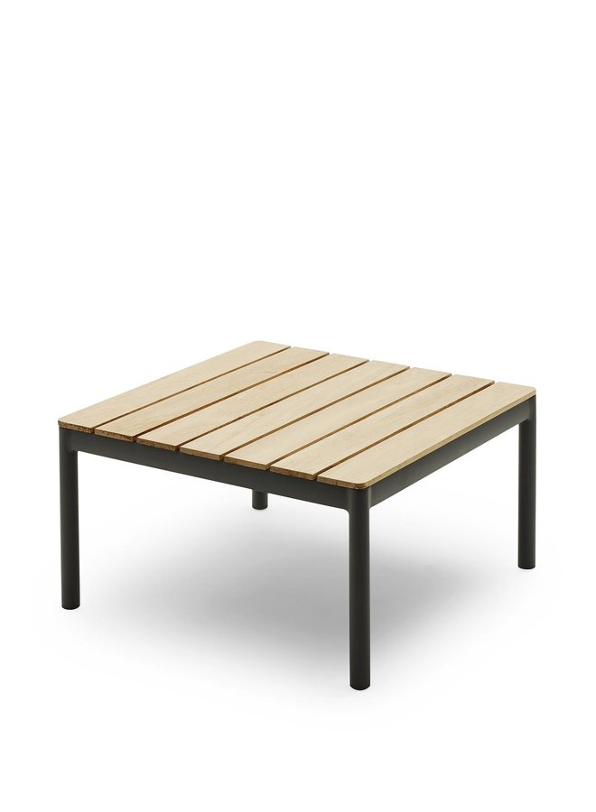 Tradition Table H40,5 Teak|Aluminum