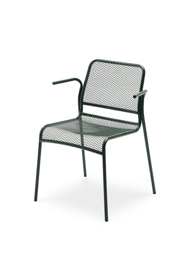 Mira Armchair, Stackable