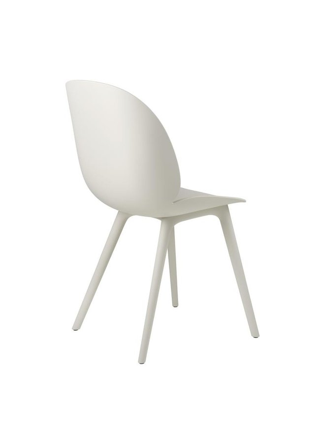 Beetle Dining Chair - Un-Upholstered, Plastic base, Monochrome, Outdoor